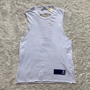 soulcycle Knockout Skull Muscle Tank Top